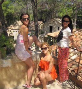 Dievčatá na dovolenke